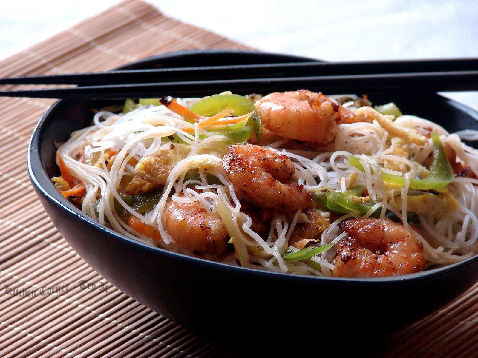 Kitchen Corner-Try It: Shrimp Vermicelli/Rice Noodles
