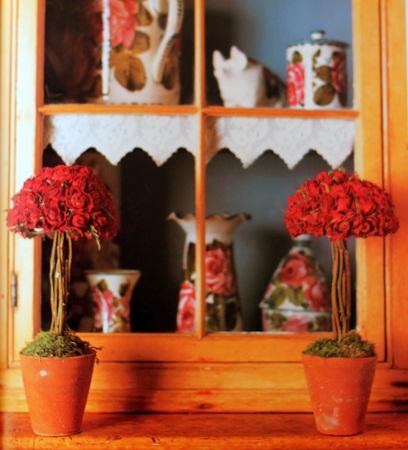 C mo decorar con flores secas topiario - Flores secas para decorar ...