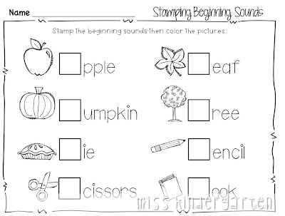 holidays homework for kindergarteners