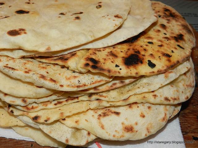 tortille pszenne - przepis na domowe placki