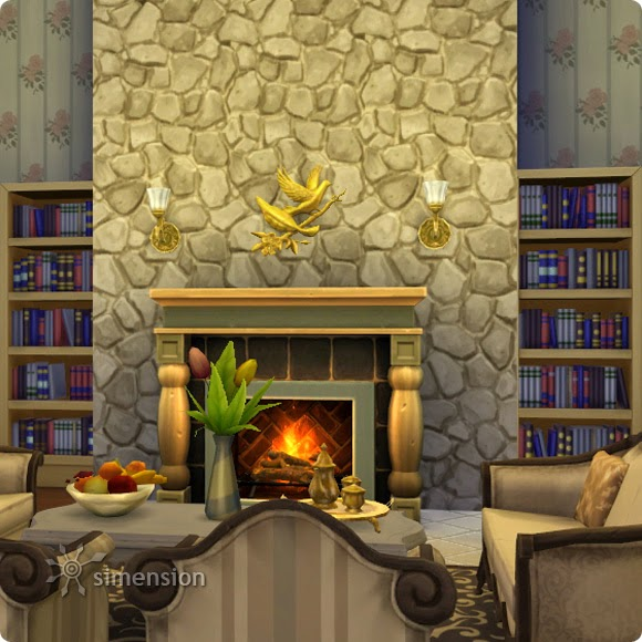My Sims 4 Blog: Stone Walls by Simension