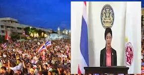 Thai PM Yingluck dissolved parliament and call elections