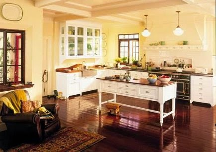 Energy saving tips from house smart home improvements for Butter cream colored kitchen cabinets