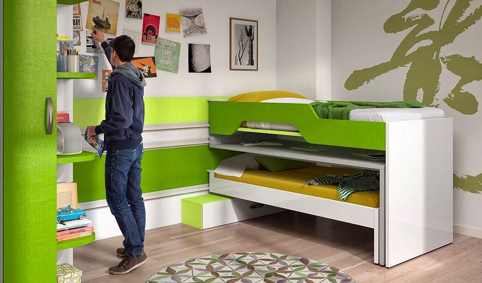 Blog dormitorios juveniles valencia qu es una litera for Camas compactas desplazables