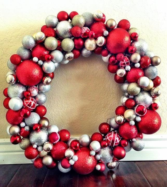 Livelovediy 20 diy christmas ornament wreath ideas i love chrissis ornament solutioingenieria Choice Image