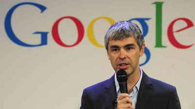Larry Page : Pendiri & Presiden Google Inc.
