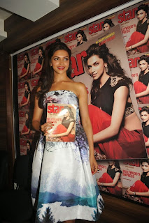 Actress Deepika Padukone Latest Pictures at Starweek Magazine Diwali Special Edition Launch  0030