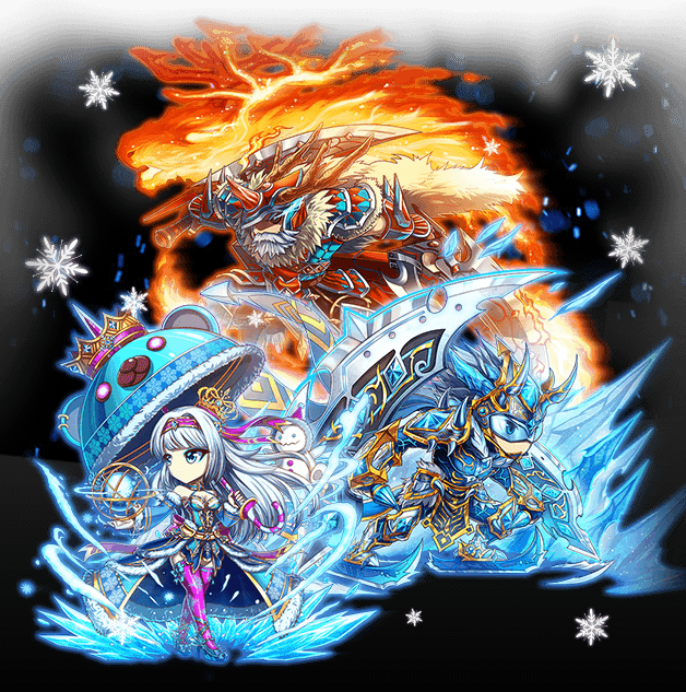 Brave Frontier Global Exclusive Christmas 6-star units released ...