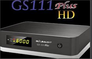 Atualizacao do receptor Globalsat GS 111 HD e GS111 Plus V-2.07 24/08/2015