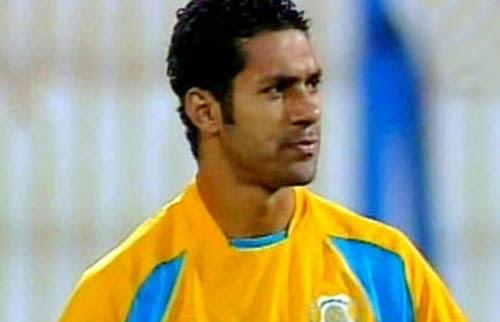 حسني عبدربه لاعب وسط الإسماعيلي الدولي