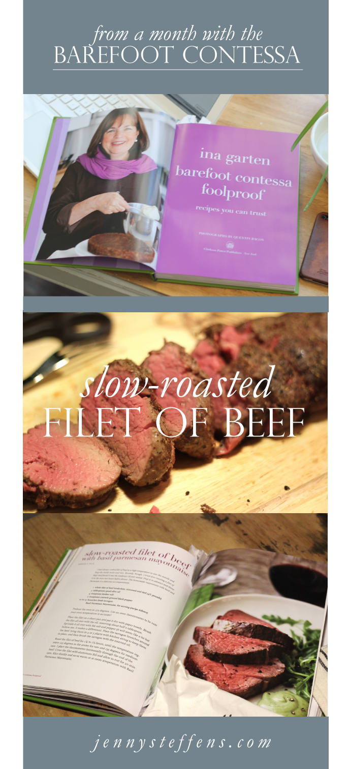 Barefoot Contessa Beef Tenderloin Brilliant Of  Hobick: SlowRoasted Beef Tenderloin | The Barefoot Contessa Project Picture