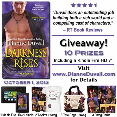 Darkess Rises Release Giveaway