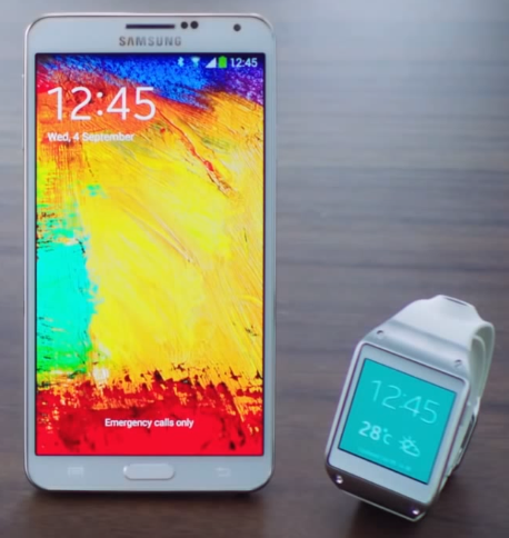 Galaxy Note 3 and Galaxy Gear