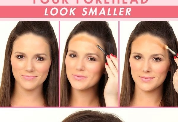 Makeup Tips How To Make Your Forehead Look Smaller