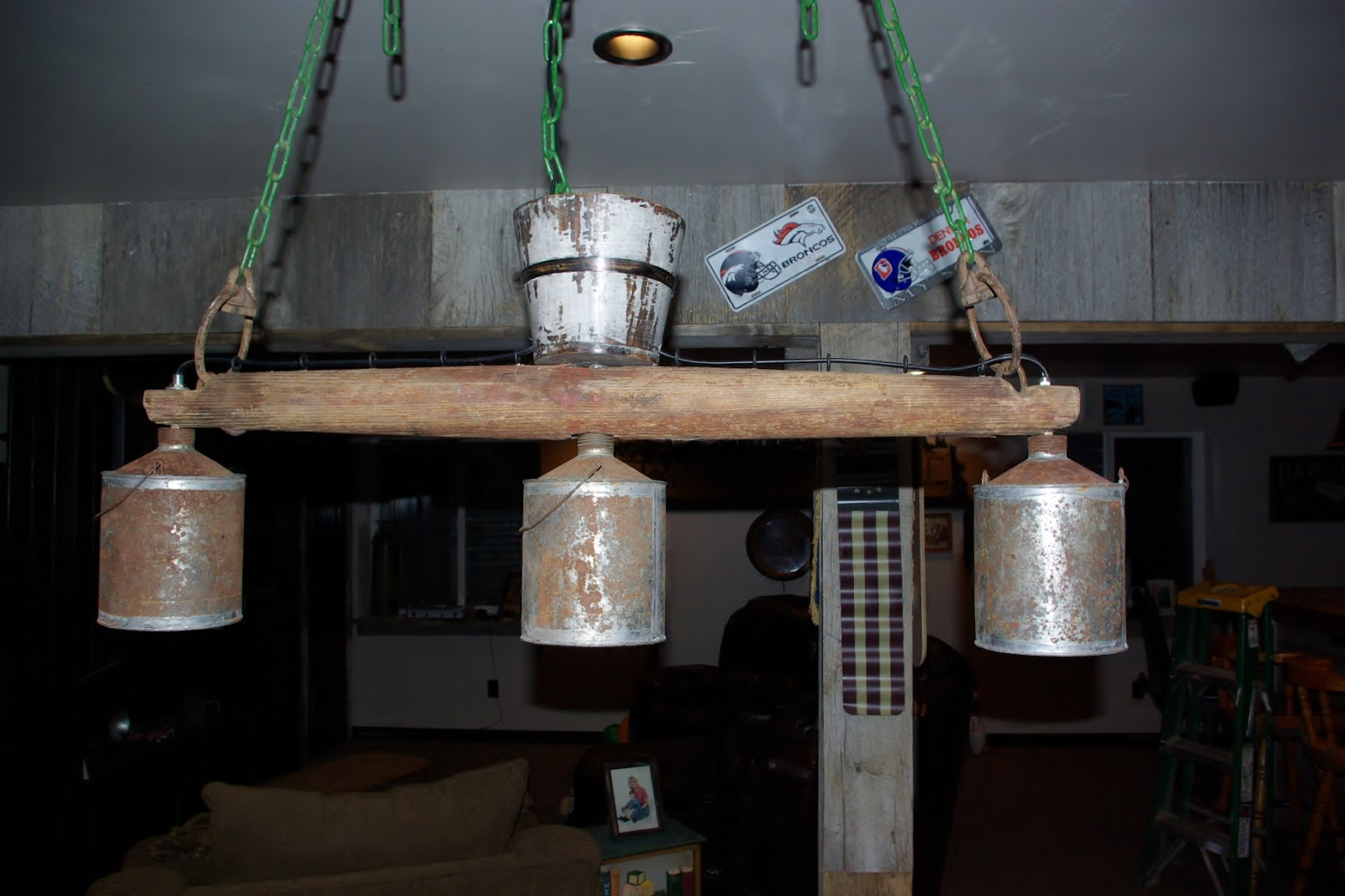 Reclaimed rustics rustic billiard light fixture for Rustic barn light fixtures