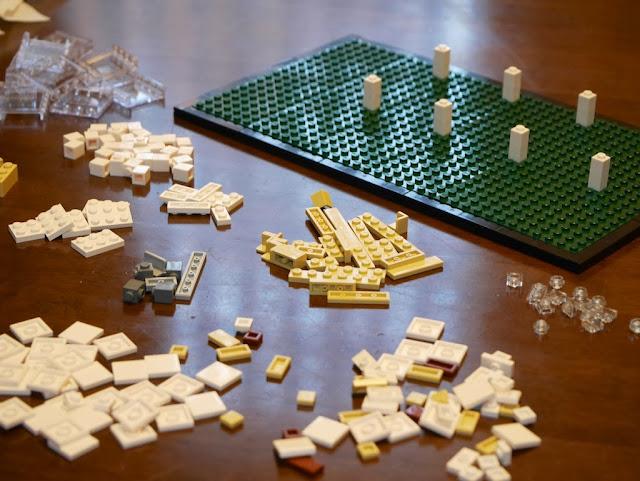 ファンズワース邸 Farnsworth House Lego Architecture