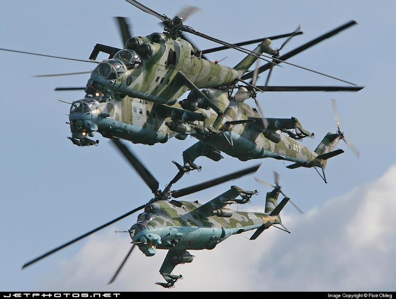 Mi-24 HIND Combat Helicopter