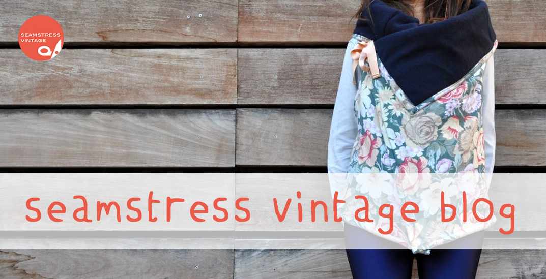 Seamstress Vintage Upcycling