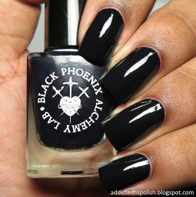 black phoenix alchemy lab black annis claw polish