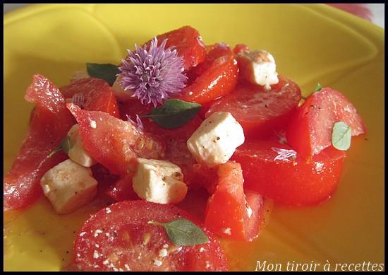 salade tomates-feta