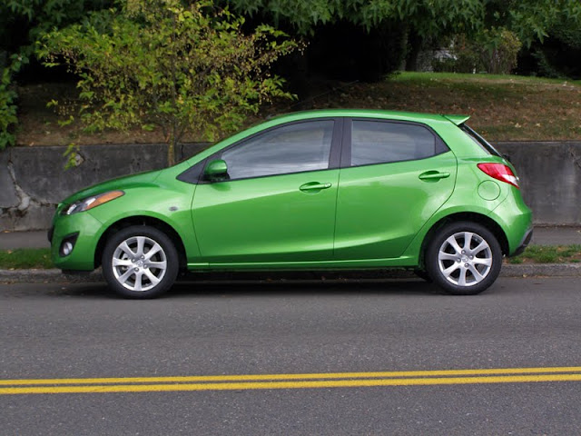 Green Mazda2