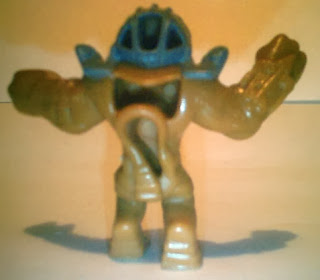 Back of mysterious beast figure