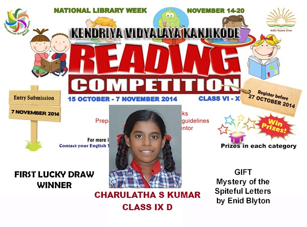 Reading Competition - Lucky Draw 2