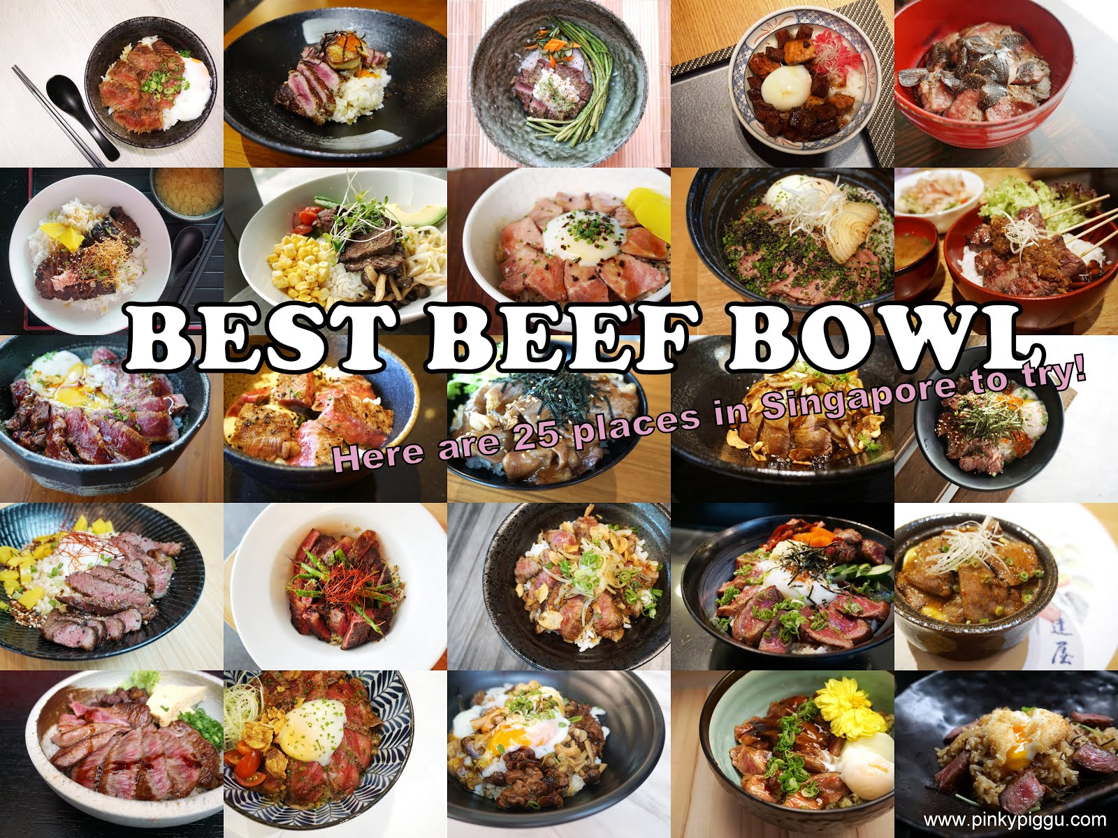 BEST BEEF BOWL! Here are 25 places in Singapore to try!