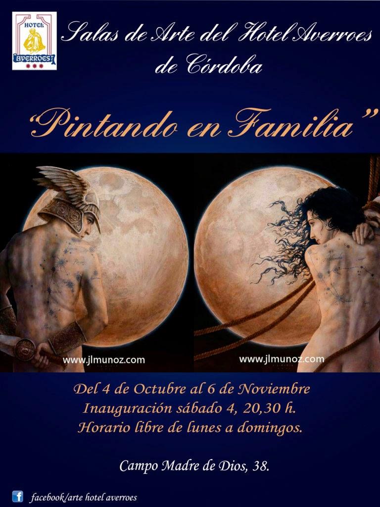 """Octubre: FAmilia Vera y Muñoz. """"Pintando en Familia"""""""