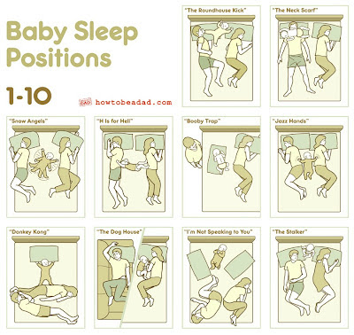 baby sleep position from howtobeadad.com