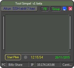 Inject Telkomsel Tool Simpel v1 beta 28 November 2015