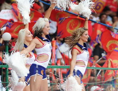 Ipl 5 Cheer Leaders