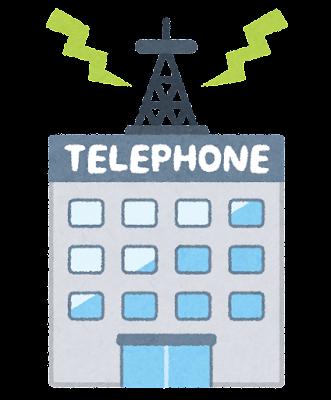電話会社のイラスト