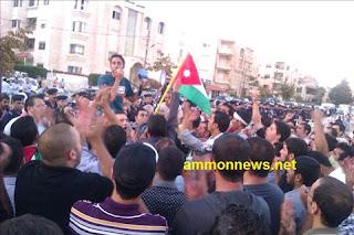 Israeli Embassy Israel Jordan Amman Palestine Palestinian Protest