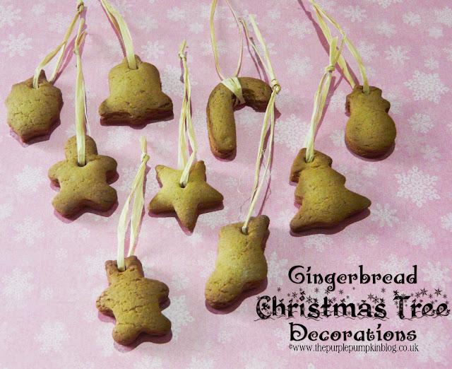Gingerbread Christmas Tree Decorations | The Purple Pumpkin Blog