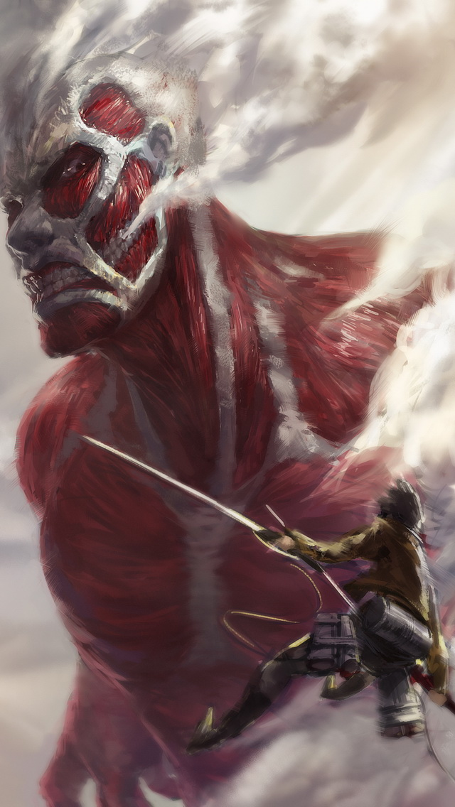 Colossal Titan iPhone 5 Wallpaper | iPhone 5 Wallpapers ...