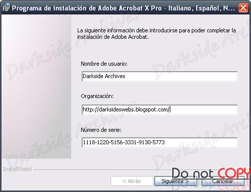 Adobe Acrobat X Pro Serial Number