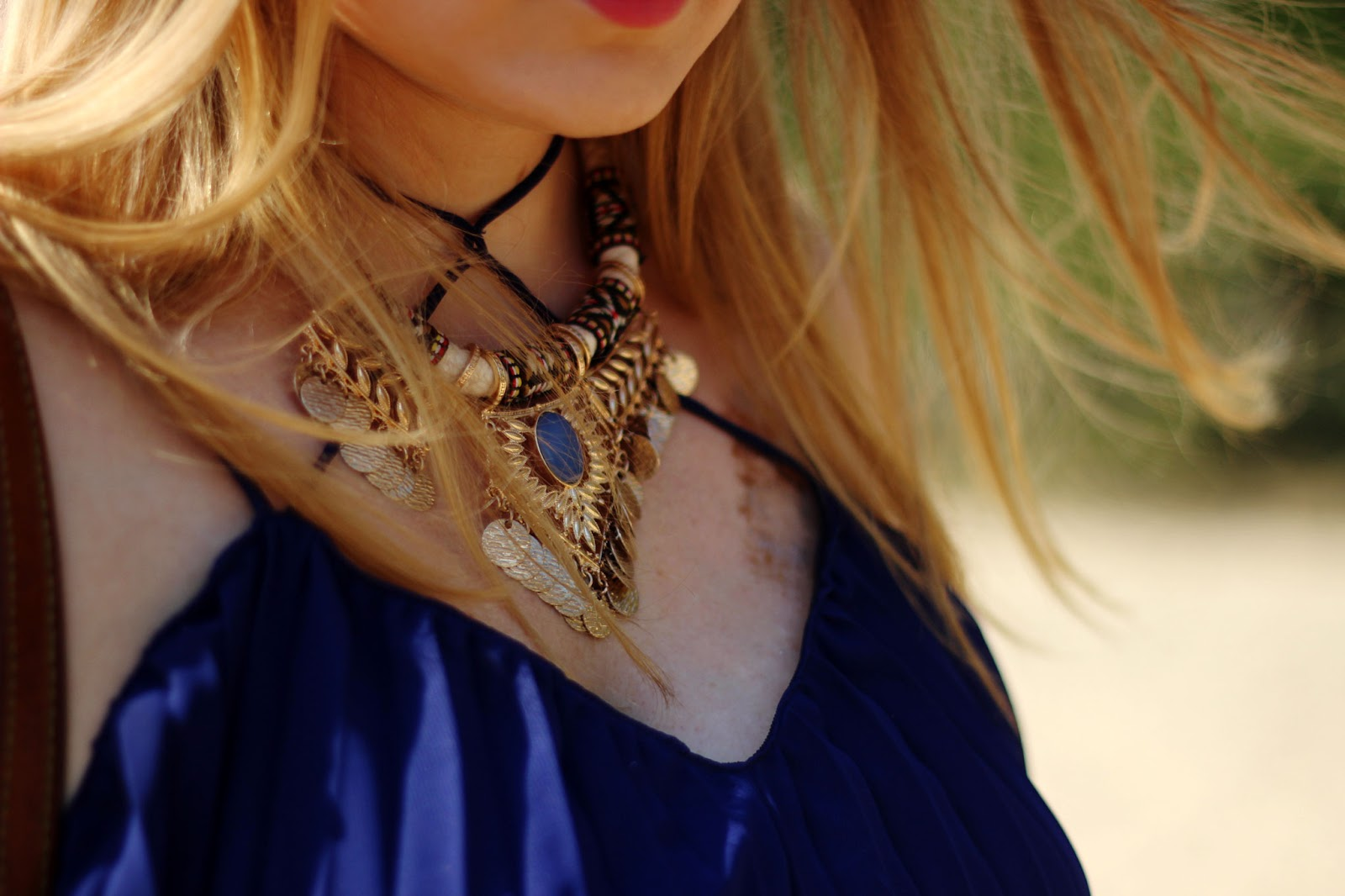 Beach, Kette, necklace, accessories, Jewelry, Indian look,