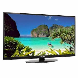 """Tv Led 42"""" CCE, LK42D - Preta, HDMI, Conversor Integrado, USB"""