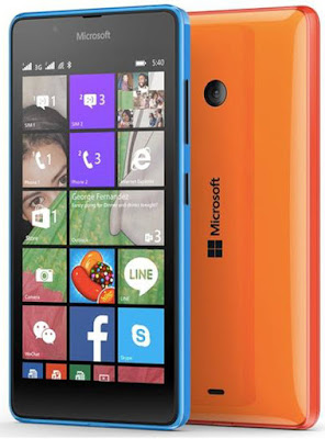 Microsoft Lumia 540 Dual SIM complete specs and features