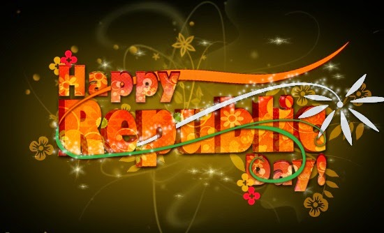 Happy Republic Day Ecards Greetings Wishes 2015