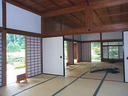 Interior de Uma Casa Tradicional Japonesa