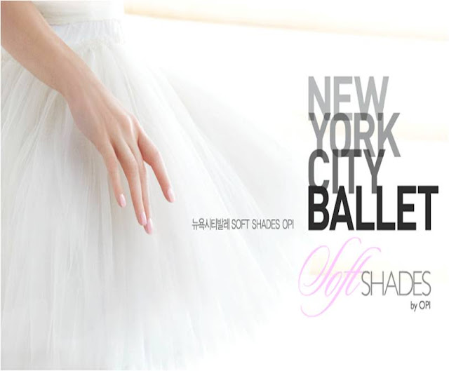OPI, New York city ballet SOFT SHADE
