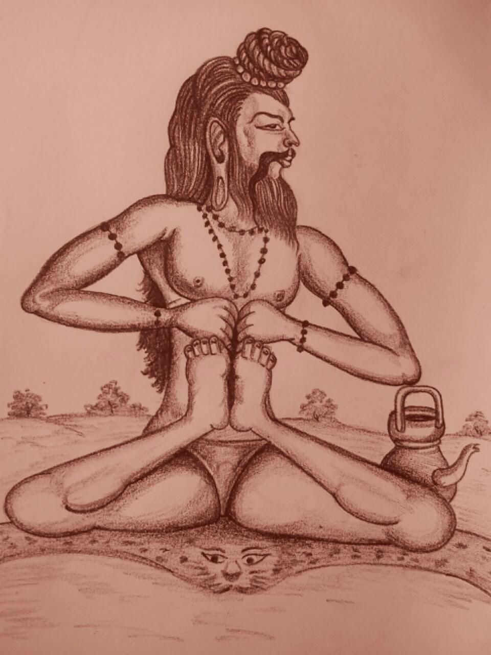சவுபரி முனிவர் திருப்பெருந்துறை.