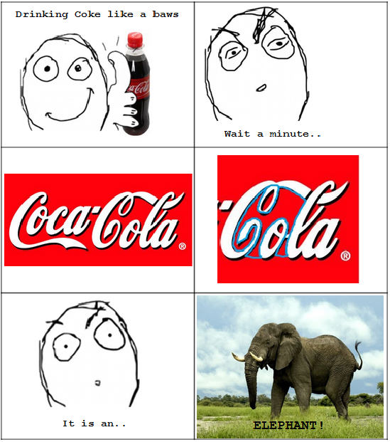 just for fun pic the hidden message in cocacola logo is