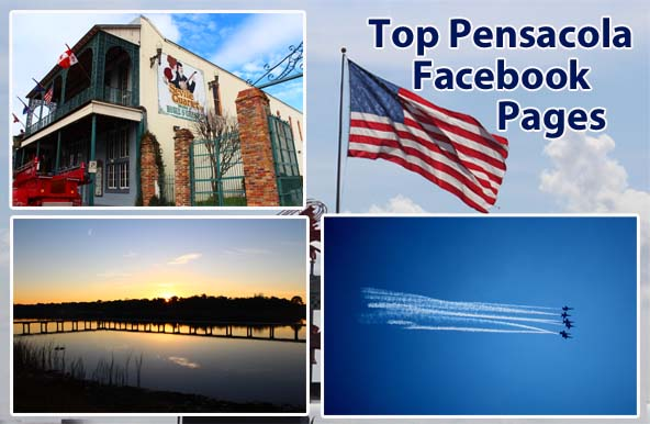 Pensacola area facebook pages