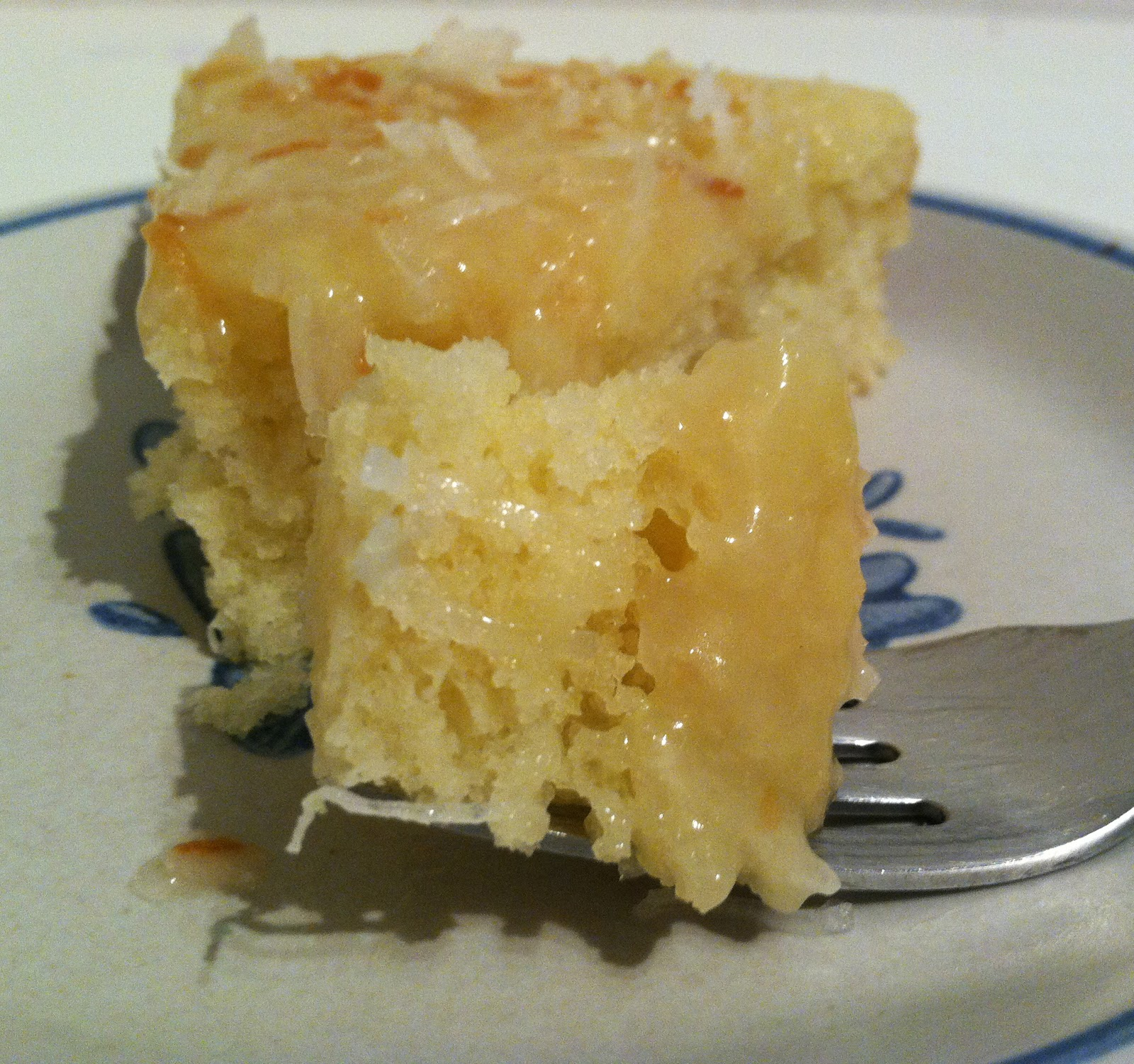 Eat, Run, Read: Cake of the Week: Key Lime Cake with Coconut Caramel