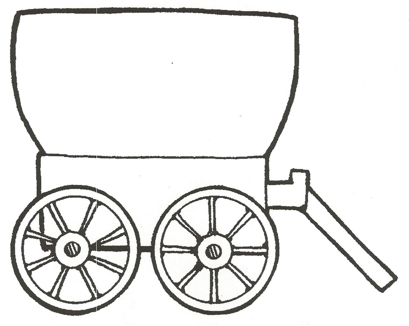wagon train coloring pages - photo#23