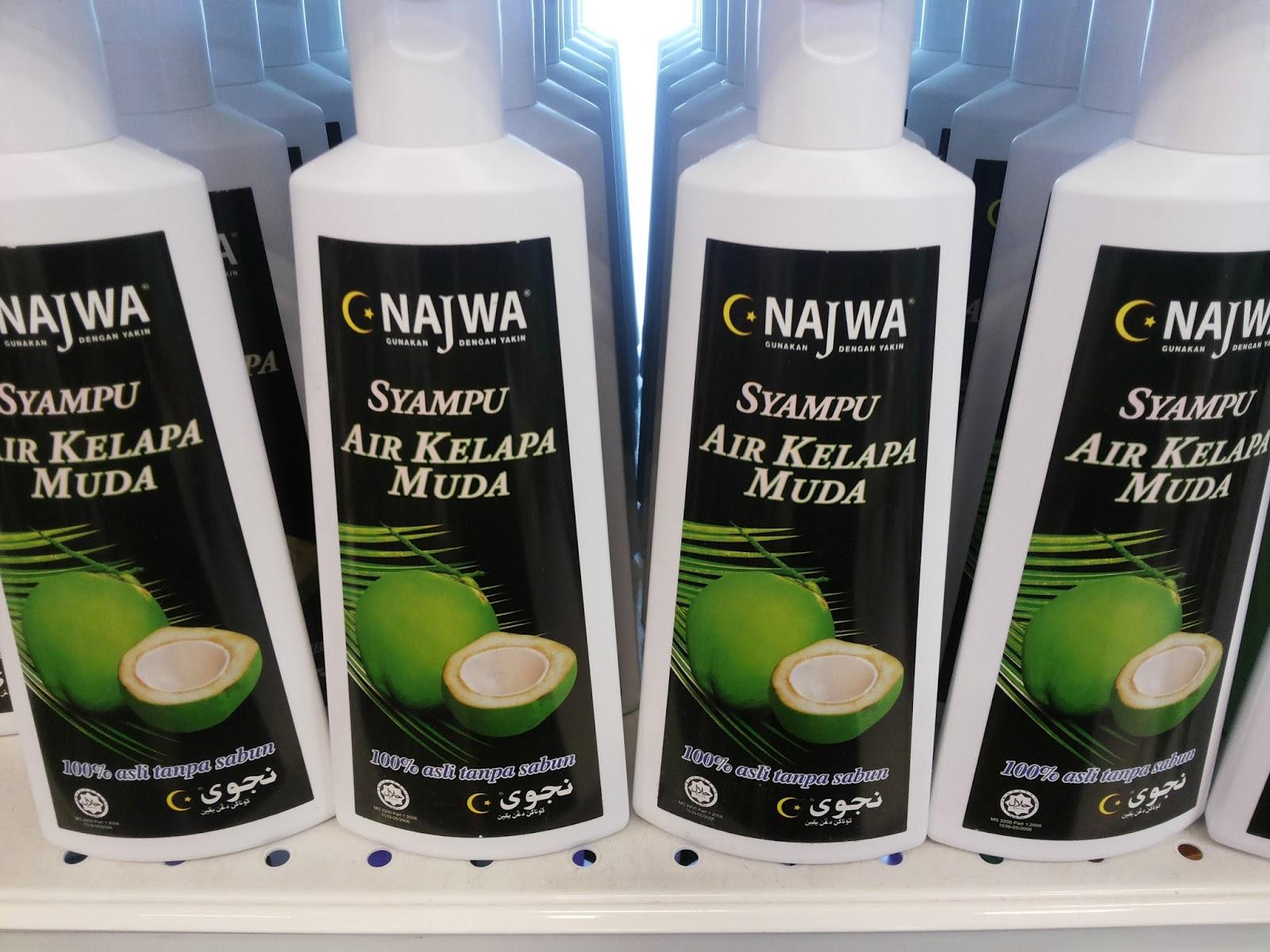 Syampo Dari Minyak Kelapa Dara