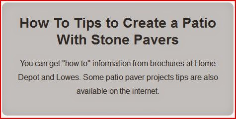 how to tips patio paver project graybox